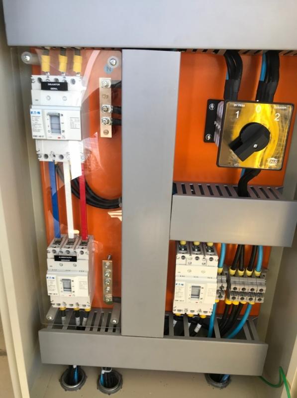 Instalação de Sistema Distribuição Elétrica Alto de Pinheiros - Sistema de Distribuição de Energia Elétrica
