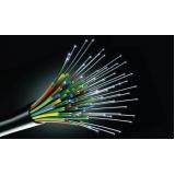 cabeamento estruturado cabo óptico Brooklin