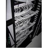 cabeamentos em data center estruturados Ipiranga