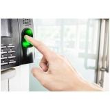 controle de acesso biométrico Bauru
