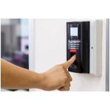 controle acesso biométrico