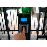 empresa especializada em controle de acesso biométrico Jardim Leonor
