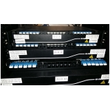 empresa que instala rede de fibra óptica data center Santa Isabel