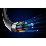 preço de cabeamento fibra ótica para empresas Vila Romana