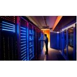 projeto iluminação de led em data center