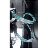rede fibra óptica estruturada Sumaré