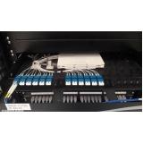 redes de fibra óptica estruturada Jaguariúna