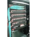 rede estruturada de fibra óptica