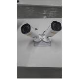sistema de câmeras de segurança industrial